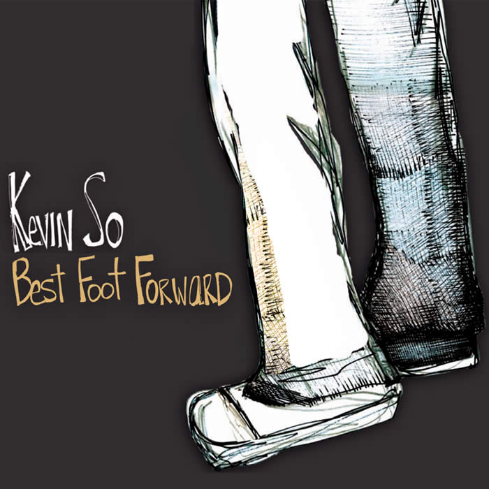 Kevin So Best Foot Forward album cd cover artwork Abby Getman