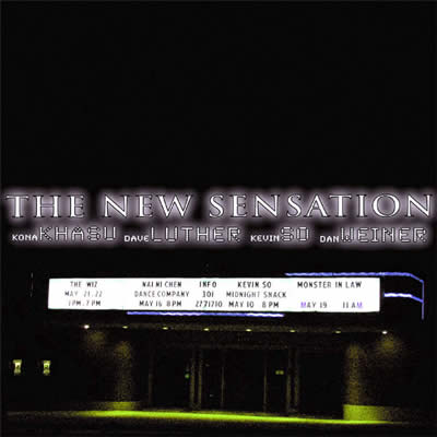 Kevin So The New Sensation Live in New York CD album cover